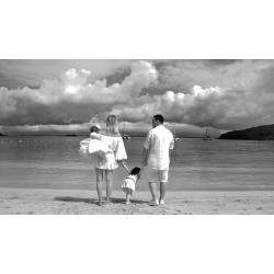Jean Vallette, Family photography in Saint-Martin