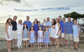 Jean Vallette Family Photography, Grand-Case Beach Club