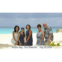 Mullet Bay, St.Martin,  Jean Vallette Family Photography - Marina Family