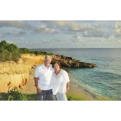Jean Vallette Couple Photography in St.Martin, Keith & Terri Anniversary