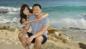 Jun & Sonoko - Cupecoy - Jean Vallette photography